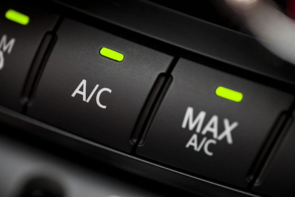 impianto dell'aria condizionata per autovetture